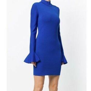 Michael Kors royal blue bell sleeve dress NWT 💙